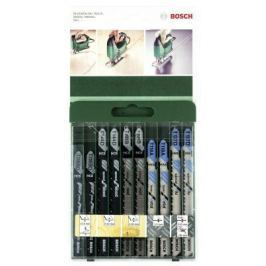 Лобзиковая пилка Bosch SET T-ХВ 10шт 2609256746