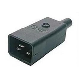 Разъем Hyperline CON-IEC320C20 IEC 60320 C20 220В 16A на кабель контакты на винтах