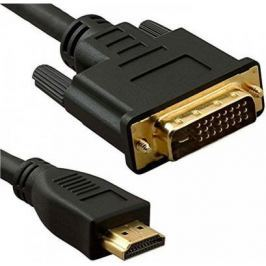 Кабель HDMI(m)- DVI(m) 3м ферритовые кольца 5bites APC-073-030