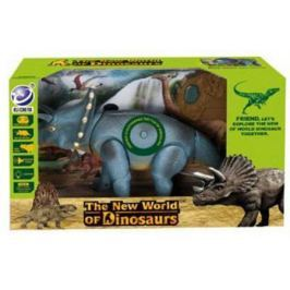 """Интерактивная игрушка Shantou Gepai """"Динозавр"""" от 3 лет серый свет, звук, 9982"""
