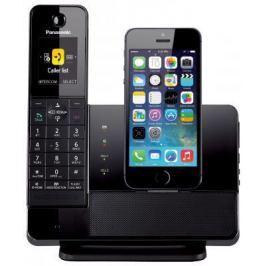 Радиотелефон DECT Panasonic KX-PRL260RUB с док-станцией для Apple iPhone черный