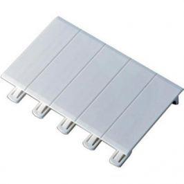 Заглушка Legrand 5 модулей белый 01660