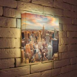 Лайтбокс NYC 35x35-105
