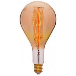 Лампа накаливания E40 95W колба золотая 054-119