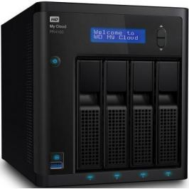Сетевое хранилище Western Digital My Cloud Pro PR4100 4x3,5 WDBKWB0080KBK-EEUE