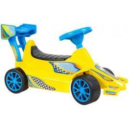Каталка Rich Toys Гоночный Спорткар Super Sport 1 желтый от 10 месяцев пластик ОР894