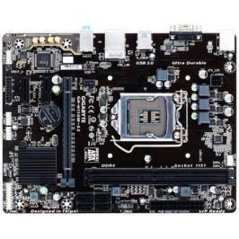 Материнская плата GigaByte GA-H110M-S2 Socket 1151 H110 2xDDR4 1xPCI-E 16x 2xPCI-E 1x 4 mATX Retail