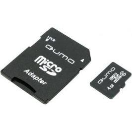 Карта памяти Micro SDHC 4Gb Class 6 QUMO QM4GMICSDHC6