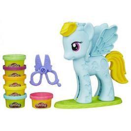 Набор для творчества Hasbro Play-Doh Стильный салон Рэйнбоу Дэш B0011H