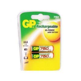 Аккумулятор 750 mAh GP GP75AAAHC-2CR2 AAA 2 шт