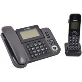 Радиотелефон DECT Panasonic KX-TGF310RUM серый металлик