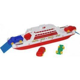 Игровой набор Полесье Паром Балтик+ Автомобиль Мини разноцветный 4 шт