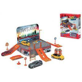 Игровой набор Гараж Welly включает 1 машину 96020