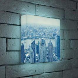 Лайтбокс Шанхай 25x25-036