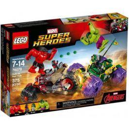 Конструктор LEGO Super Heroes: Халк против Красного Халка 375 элементов 76078