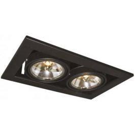 Встраиваемый светильник Arte Lamp Technika A5930PL-2BK