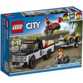 Конструктор LEGO City: Гоночная команда 239 элементов 60148