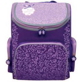Ранец с уплотненной спинкой Silwerhof Floral Dreams 830745 фиолетовый