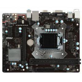 Материнская плата MSI H110M PRO-VD PLUS Socket 1151 H110 2xDDR4 1xPCI-E 16x 2xPCI 4 mATX Retail