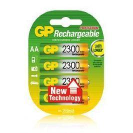 Аккумулятор 2300 mAh GP 230AAHC-2CR4 AA 4 шт