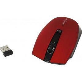 Мышь беспроводная Canyon CNS-CMSW5R красный USB