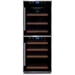 Винный шкаф CASO WineMaster Touch 38-2D черный