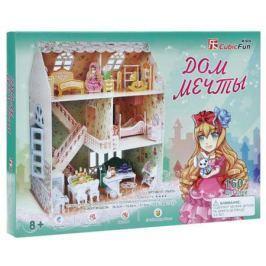 Пазл 3D CubicFun Дом мечты 160 элементов P645h