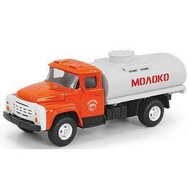 Интерактивная игрушка Play Smart грузовик(молоко) от 3 лет бело-оранжевый