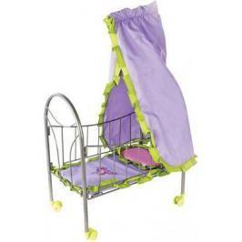 "Кроватка для кукол Mary Poppins с балдахином ""Бабочки"" 67274"