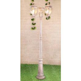 Садово-парковый светильник Elektrostandard Andromeda F/3 GLYF-8024F/3 белое золото 4690389082405