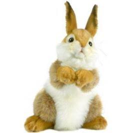 Мягкая игрушка кролик Hansa 3316 искусственный мех коричневый 30 см
