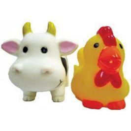 Игрушка для купания для ванны Жирафики Коровка и курочка