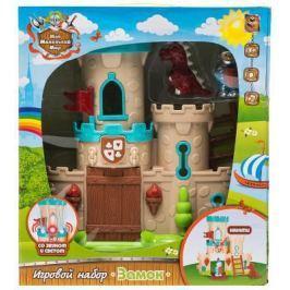 """1toy игровой набор """"Мой маленький мир&quot, замок, аксессуары, фигурки (2 шт), звук, свет Т57425"""