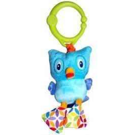 """Интерактивная игрушка Bright Starts """"Дрожащий дружок"""" - Сова от 3 месяцев голубой 8808-6"""