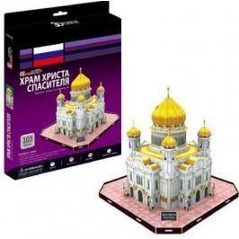 Пазл 3D CubicFun Храм Христа Спасителя (Россия) C205H 103 элемента C205H