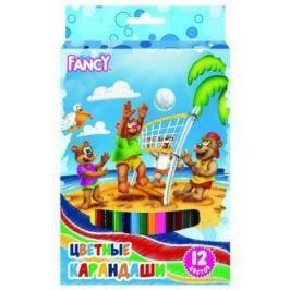 Набор цветных карандашей Action! Fancy 12 шт утолщенные FCP421-12 FCP421-12