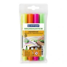 Набор маркеров флуоресцентных Centropen 8852/4PVC 4.6 мм 4 шт разноцветный