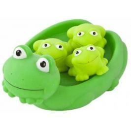 Игрушка для купания для ванны Жирафики Мама лягушка и лягушата