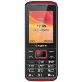 Мобильный телефон Texet TM-214 красный черный