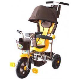 Велосипед Rich Toys Galaxy Лучик с капюшоном 5391/Л001 коричнево-желтый
