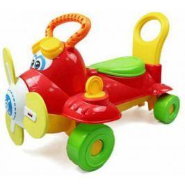 """Каталка Shantou Gepai """"Самолетик"""" пластик от 3 лет на колесах красный со звуком Y360963"""