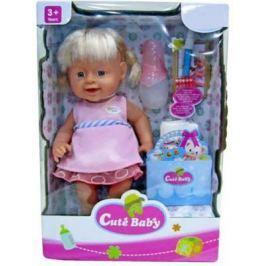 Кукла-младенец Shantou Gepai Прелестная малышка Y16203244 40 см писающая пьющая Y16203244