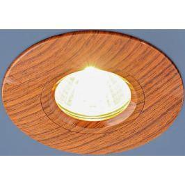Встраиваемый светильник Elektrostandard 108 MR16 BR дуб 4690389081859
