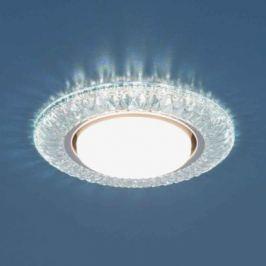 Встраиваемый светильник Elektrostandard 3020 GX53 CL прозрачный 4690389083266