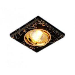 Встраиваемый светильник Elektrostandard 2080 MR16 BK/GD черный/золото 4690389002120