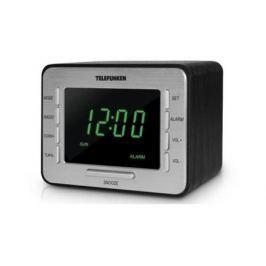 Часы с радиоприёмником Telefunken Telefunken TF-1508 чёрный зелёный