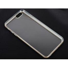 Накладка DF iCase-03 для iPhone 6S Plus iPhone 6 Plus серебристый