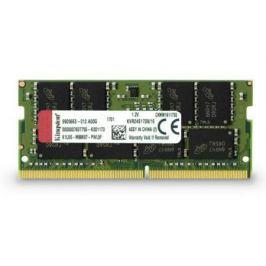 Оперативная память для ноутбуков SO-DDR4 16Gb PC19200 2400MHz Kingston KVR24S17D8/16