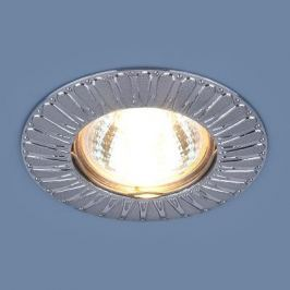 Встраиваемый светильник Elektrostandard 7203 MR16 SCH сатин хром 4690389044205