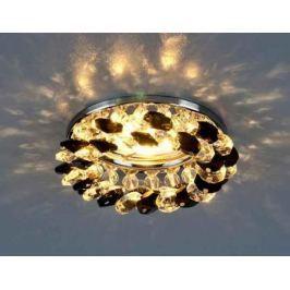 Встраиваемый светильник Elektrostandard 206 MR16 CH/BK/CL хром/черный/прозрачный 4690389029547